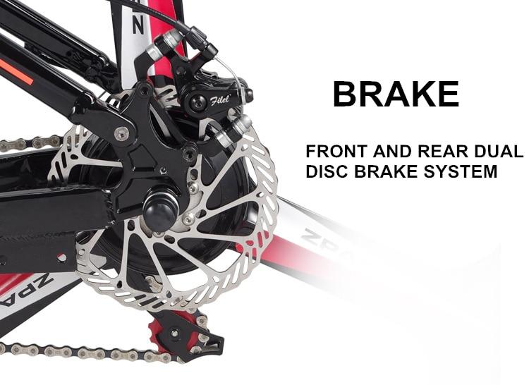HTB1Jaeyh0zJ8KJjSspkq6zF7VXaS - 21 Velocity, 26 inches, 48V/15A, 350W, Folding Electrical Bicycle, Mountain Bike, Lithium Battery, Aluminum Alloy Body, Disc Brake.