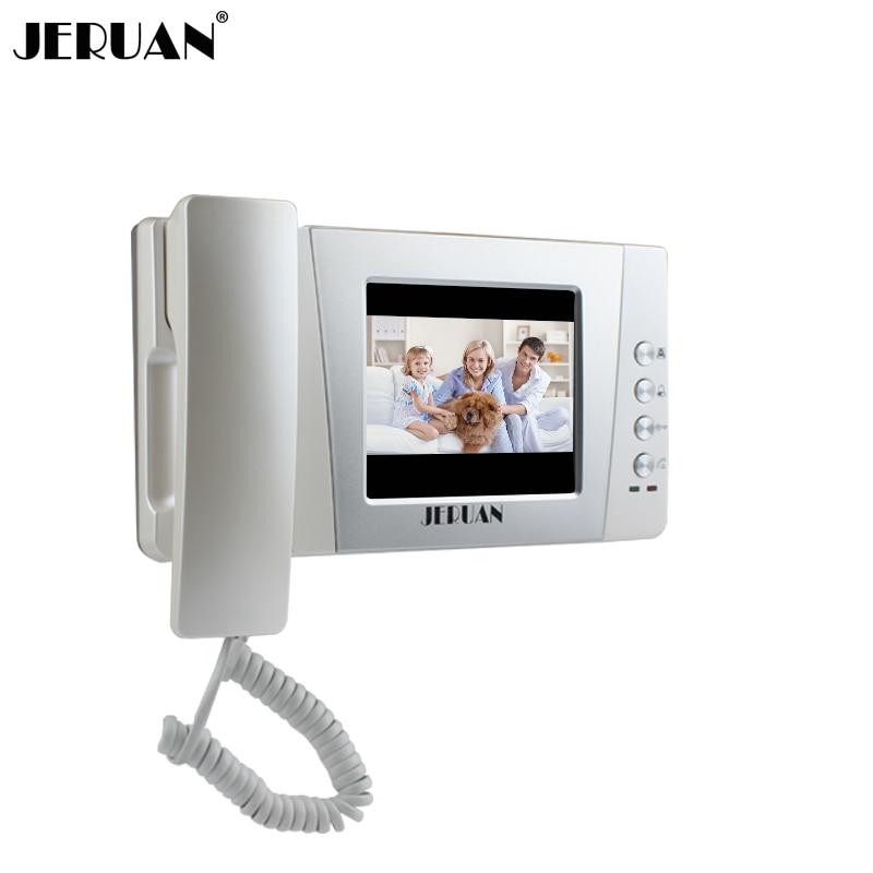 JERUAN 4.3 Inch Video Door Phone Color Doorphone Indoor Only  Intercom +power Adapter Free Shipping 405