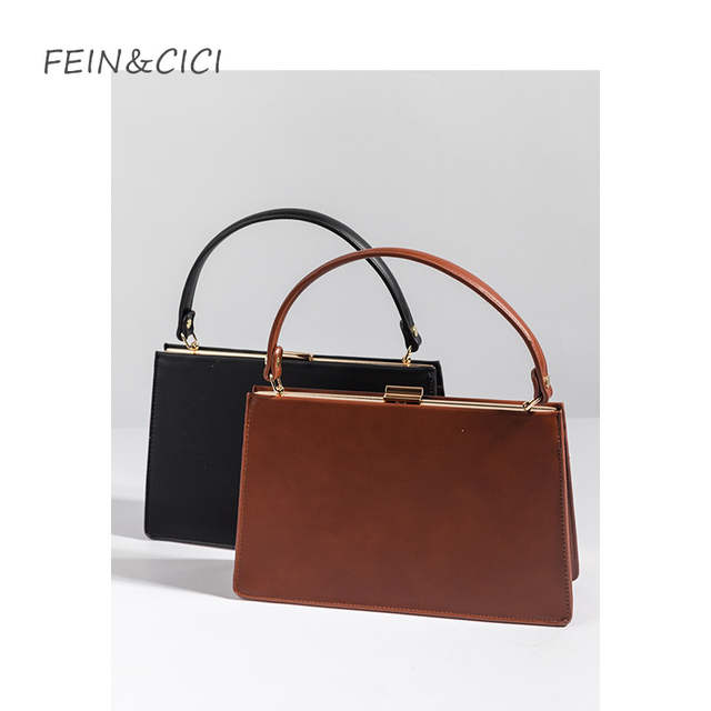 5d97ff666c placeholder Retro Clasp bag frame totes handbag women business OL fashion  pu leather vintage box bag 2018