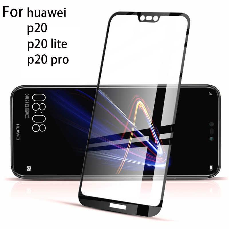 3D Full Cover Glass For Huawei Nova 4 3 3e 3i Honor 8X 10 Mate 20 10 Lite P20 P10 Pro P8 P9 Lite 2017 P Smart Protective Screen