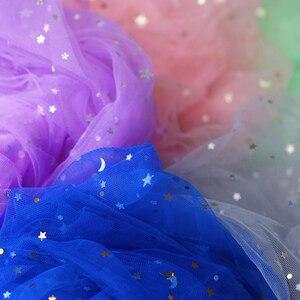 Image 5 - יפה צילום רקע מסתורי גזה נוצץ כוכבים צעיף עבור סטודיו צילום רקע estudio פוטוגרפיה קישוט