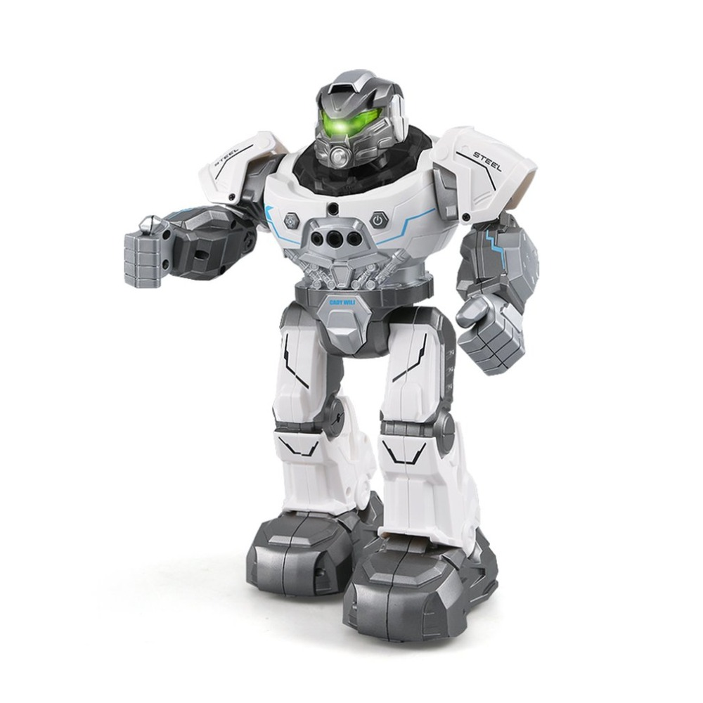 JJR/C R5 CADY WILI Intelligent Robot Remote Control Programmable Auto Follow Gesture Sensor Music Dance RC Toy Kids Gift