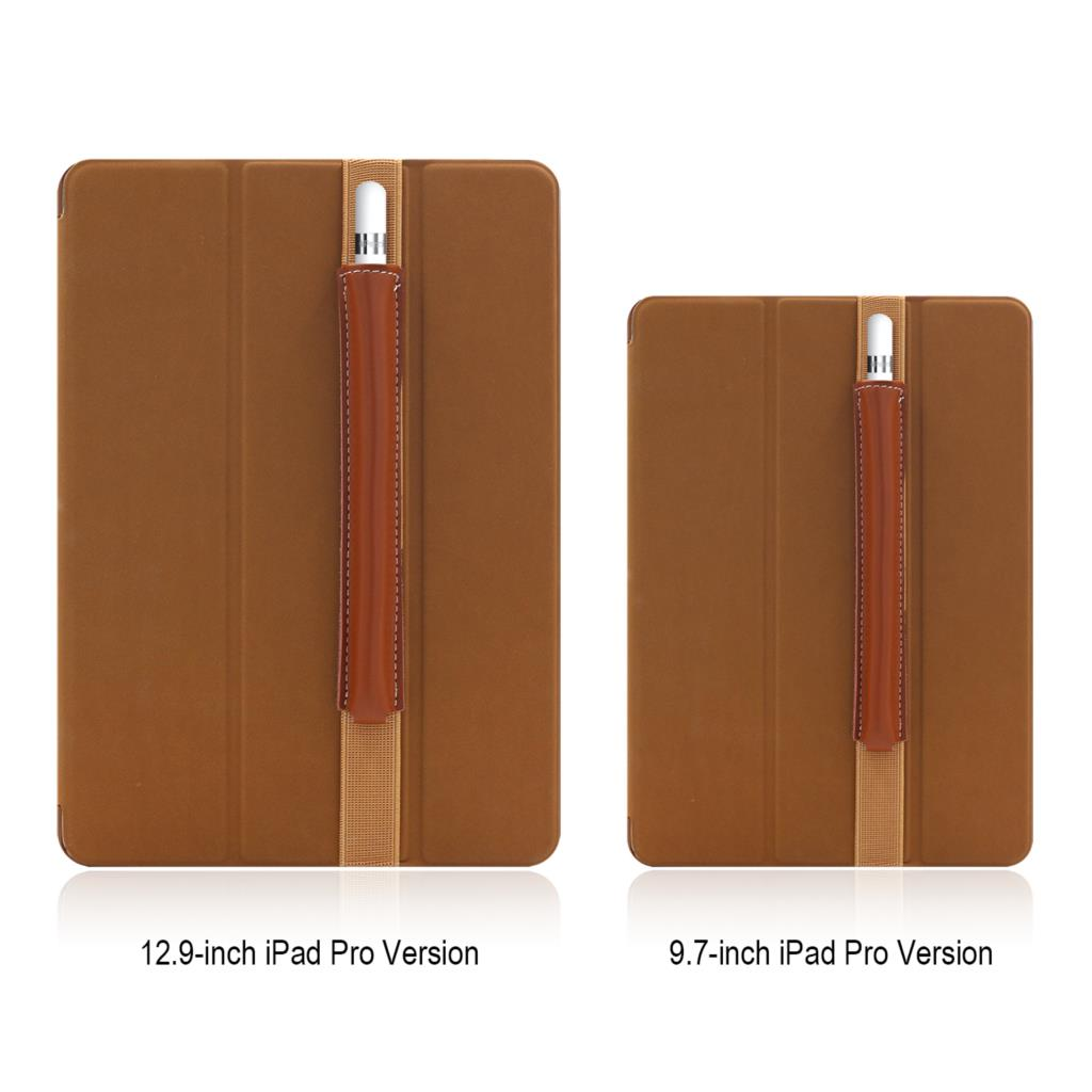 For Apple Pencil Case For Ipad Pro 10.5 Case With Pencil Holder Leather Case For Ipad 9.7 Case For Ipad Pro 10.5