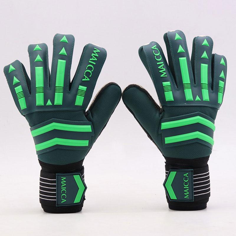 Противоскользящие латексные перчатки для мужчин и женщин, профессиональные перчатки для защиты пальцев, перчатки для вратаров