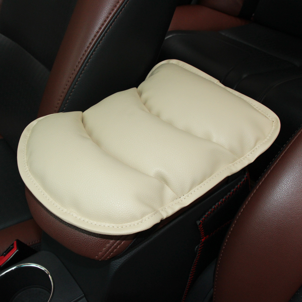 Stowing Tidying Interior Accessories 1pcs Pu Car Armrests Cover Pad Console Arm Rest Pad For Volvo S40 S60 S70 S80 S90 V40 V50 V60 V90 Xc60 Xc70 Xc90