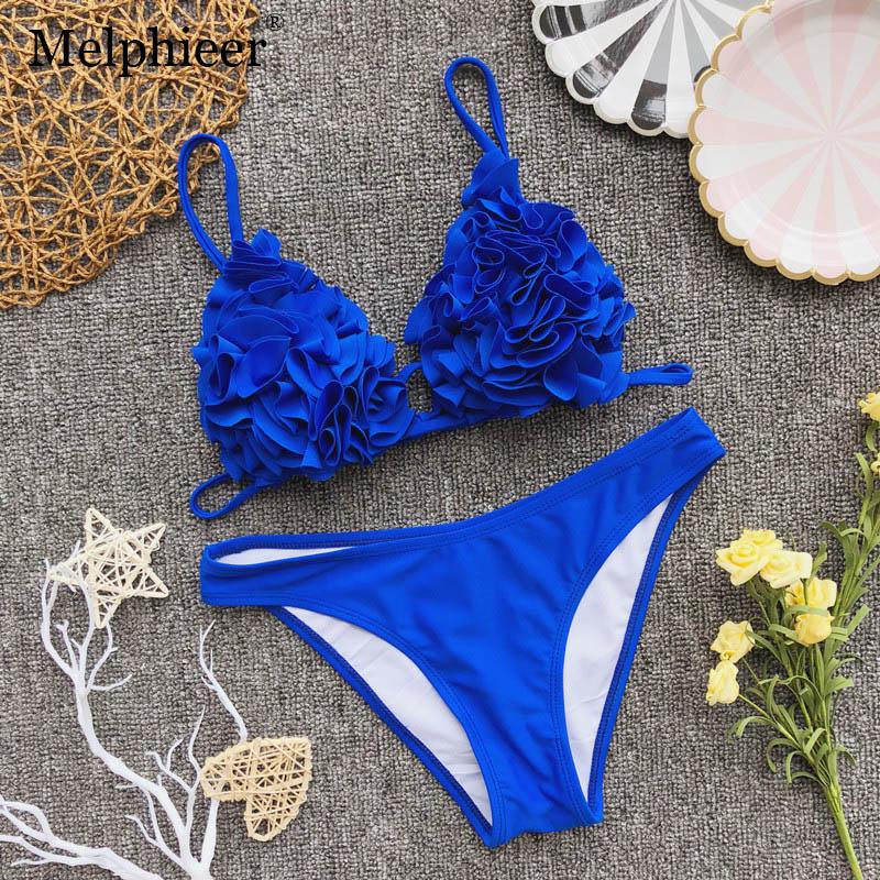 6d4c0f60145 Buy flower 3d bikini and get free shipping on AliExpress.com
