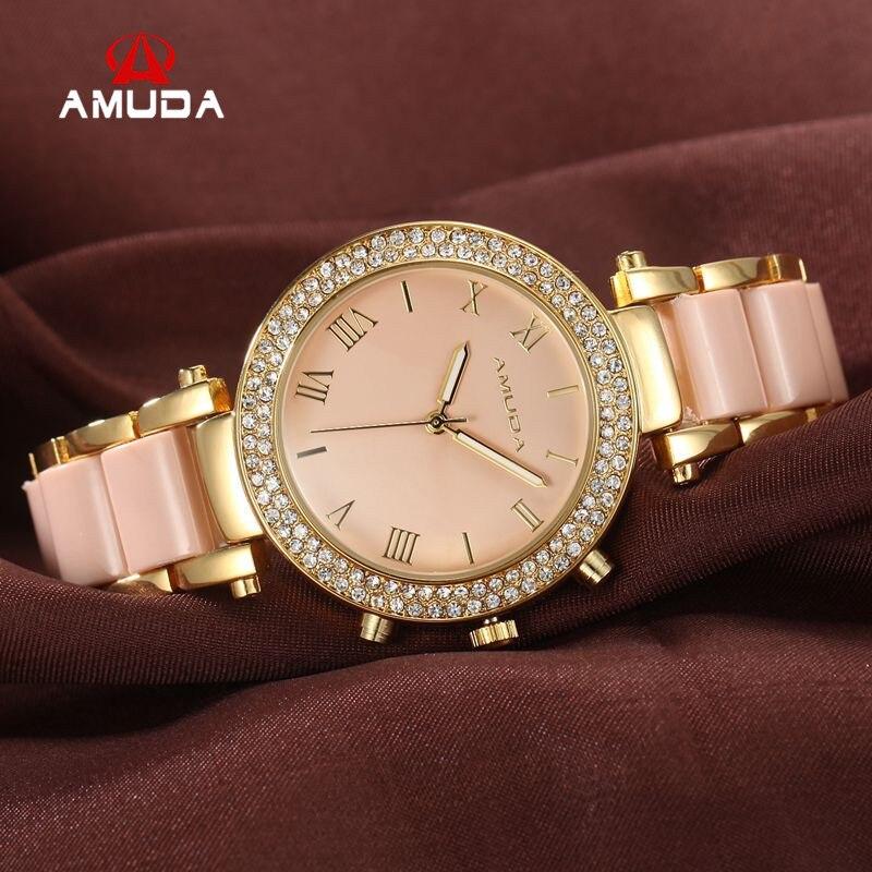 Fashion Waterproof Retro Gold Women s Quartz Watches Diamond Oval Dial Leather Lady Dress Wristwatches Relogio