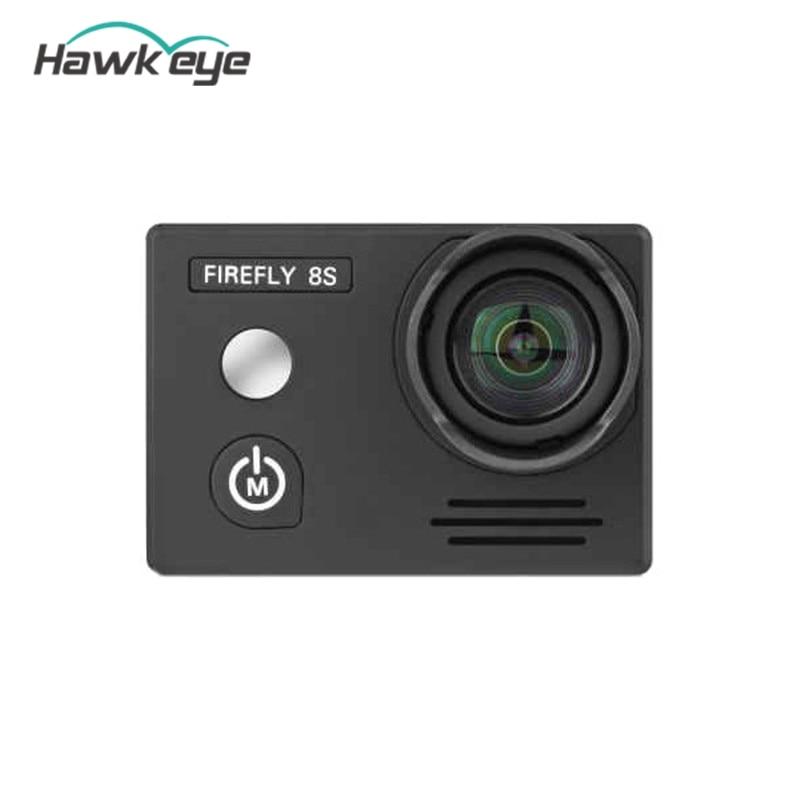 Original Hawkeye Firefly 8S 4K 90 Degree FOV HD Visual Angle WIFI FPV Sports Camera No Distortion Version Action Camera Cam hawkeye firefly q6 4k hd mini camera fpv glight camcorder for qav250 210 180 drones