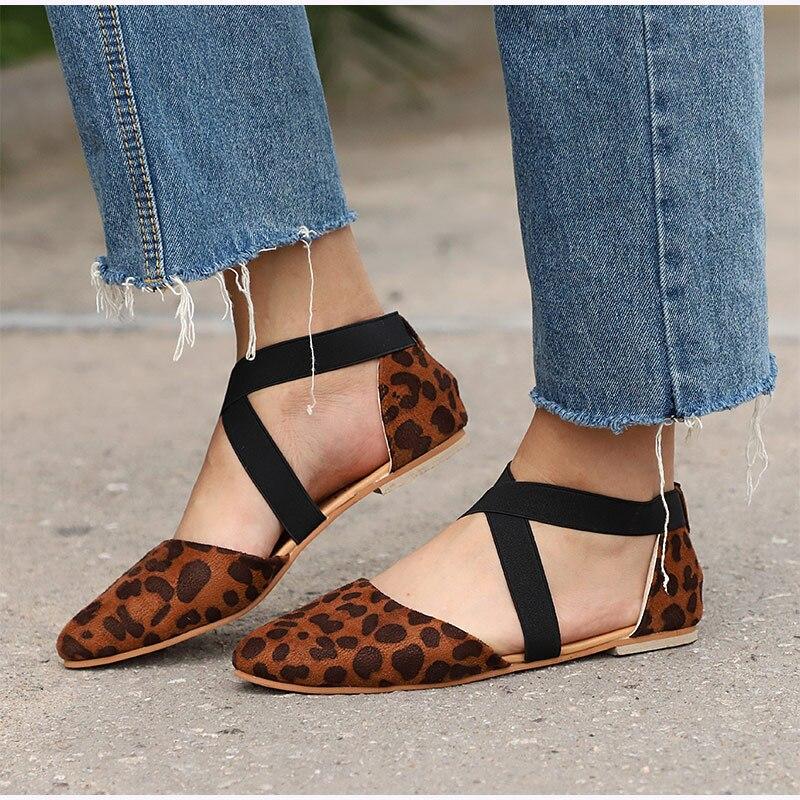 Mulheres-Leopard-Duas-Pe-as-Cinta-Cruz-El-stico-Outono-Apartamentos-Dedo-Apontado-Feminino-Sapatos-Das (1)