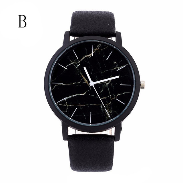Unisex Simple Watches for Women/men Top Brand Luxury PU Leather Quartz Watch Gift Business Clock Accessories Relogio  #Zer