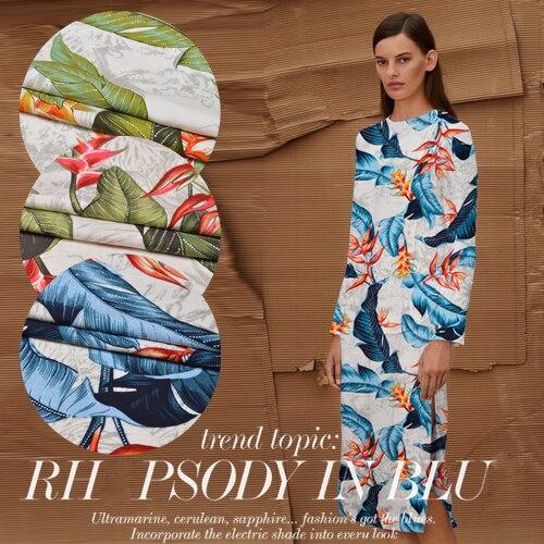 Clever The High-end Silk Silk Printing Fabric Of Silk Apparel Sewing & Fabric Silk Fashion Fabric Lattice Heavy Fabric 32 High Quality Fashion Fabrics