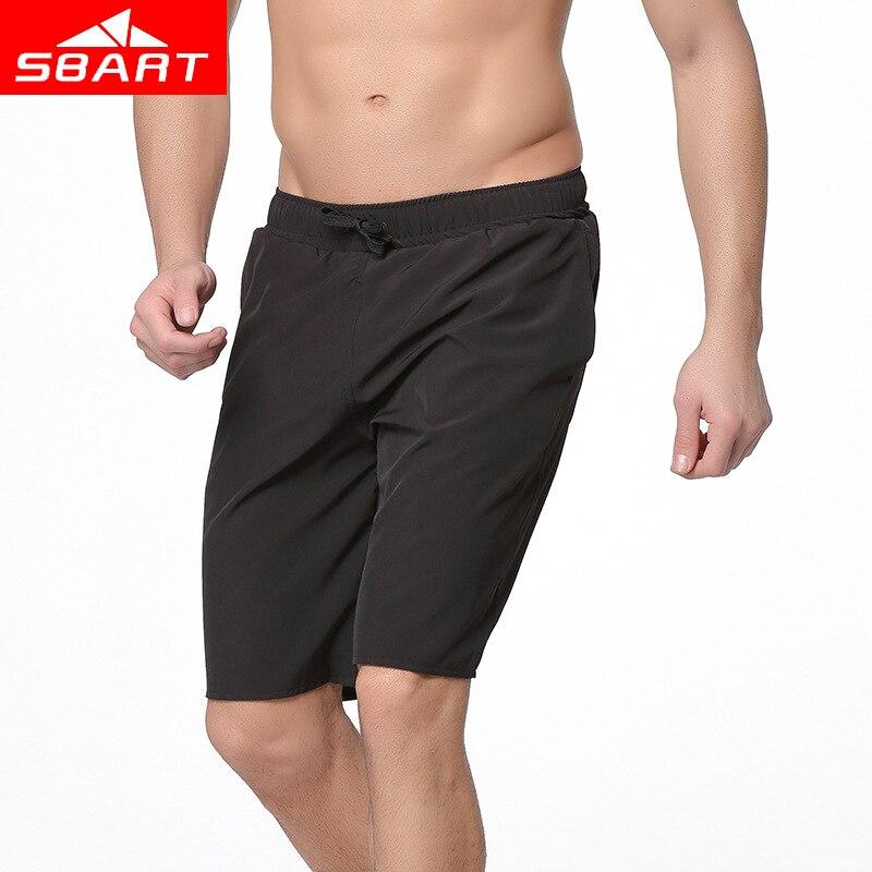 SBART Brand Mens Swimwear Solid Mens Beach Pants Plus Size Mens Shorts Quick Drying Men Swimming Trunks Swimming Short