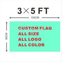 Custom Flag 90 150cm All Logo All Color Royal Flag