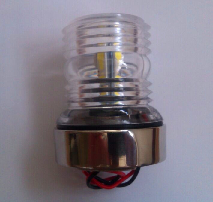 Marine Boat Yacht Light  S.S  All Round 360 Degree LED Navigation Light White Light