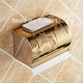 Polished Stainless Steel Bathroom Toilet Paper Tissue box Holder with Mobile Phone Storage Shelf
