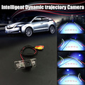 Автомобиль Интеллектуальные Вспять Траектория Треков Камера Заднего Вида Парковка Для Audi A6/S6/A7/S7 2010 ~ 2014/RCA NTST PAL