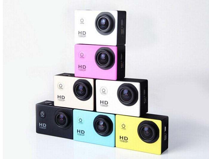 Envío libre estilo sj4000 gopro hero 3 go pro cámara 30 m impermeable 1080 p ful