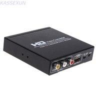 HD 비디오 컨버터 HDMI CVBS AV/HDMI 자동 스케일러