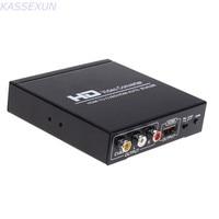 HD Video Converter HDMI TO CVBS AV/HDMI AUTO SCALER Support NTSC/ PAL HD Video Converter for TV,VHS, VCR,DVD recorders