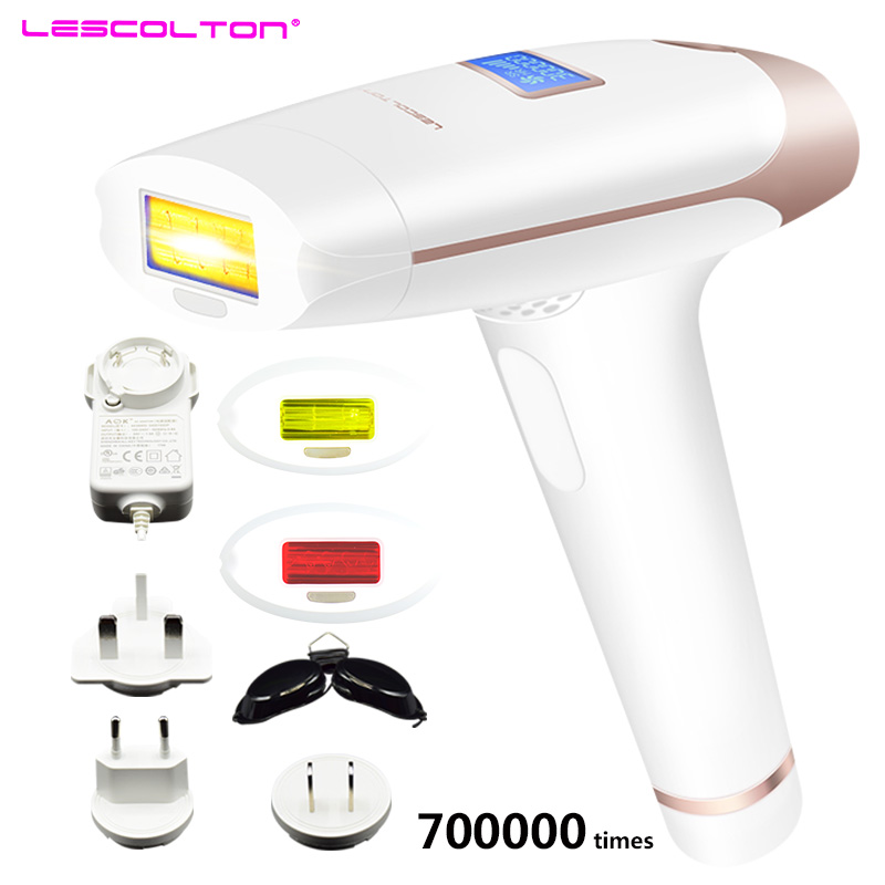 Lescolton IPL Laser Hair Removal Device for Permanent Hair Removal of Armpit Hair with 700000 Flashes 9