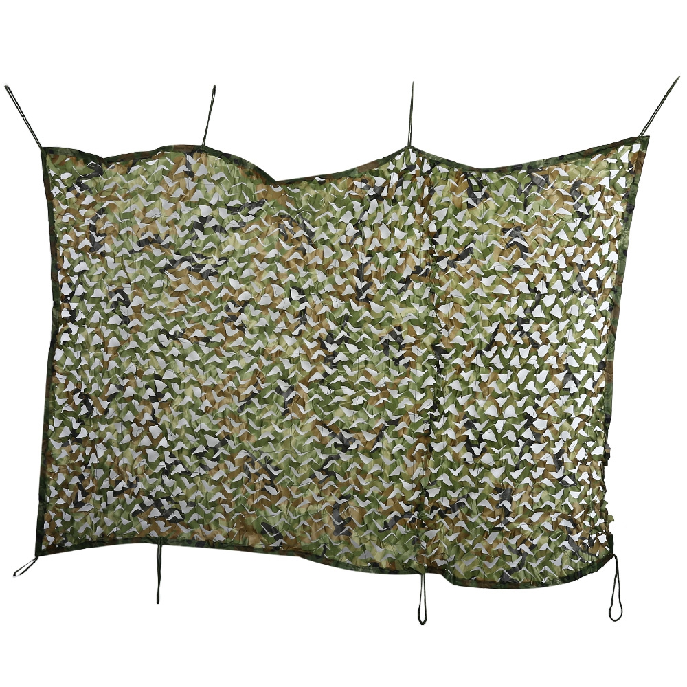 3M*5M Military Camo Netting Sun Shelter Beach Tourist Car-covers Tents 150D Polyester Filet Cloth Camo Netting Sun Shelter Tents 5 5m camouflage net camping beach tents 150d polyester oxford ultralight sun uv camouflage net outdoor camping beach tents