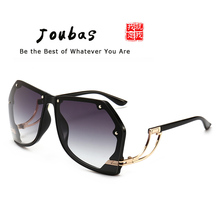 Joubas Pilot Sun Glasses 2019 Women Men Big Shield Sunglasse