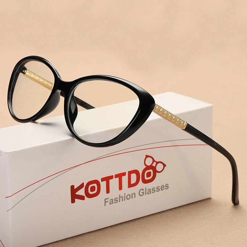 KOTTDO Retro Cat Očala okvir Okenska optična očala Receptna očala - Oblačilni dodatki - Fotografija 4