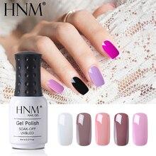 HNM 8 мл, Классический 28 цветов, УФ-гель для ногтей, гибридный лак, светодиодный, для рисования, геллак, замачивается, полуперманентное тиснение, Гель-лак, эмаль