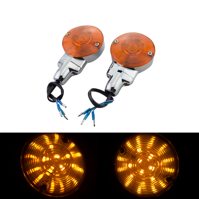Motorcycle Flashing Turn Signal Lights Led Turn Signals Flasher for Harley Softail Road King Electra Glide Classic 95-13 motorcycle flashing turn signal lights led turn signals flasher for harley softail road king electra glide classic 95 13