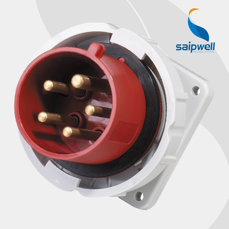 Outstanding 32A 400V 5P 3P N E Female Iec Socket Panel Mount Industrial Wall Wiring 101 Ivorowellnesstrialsorg