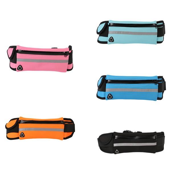 Outdoor Running Waist Bag Waterproof Mobile Phone Holder Jogging Belt Belly Bag Women Gym Fitness Bag Lady Sport Accessories 6