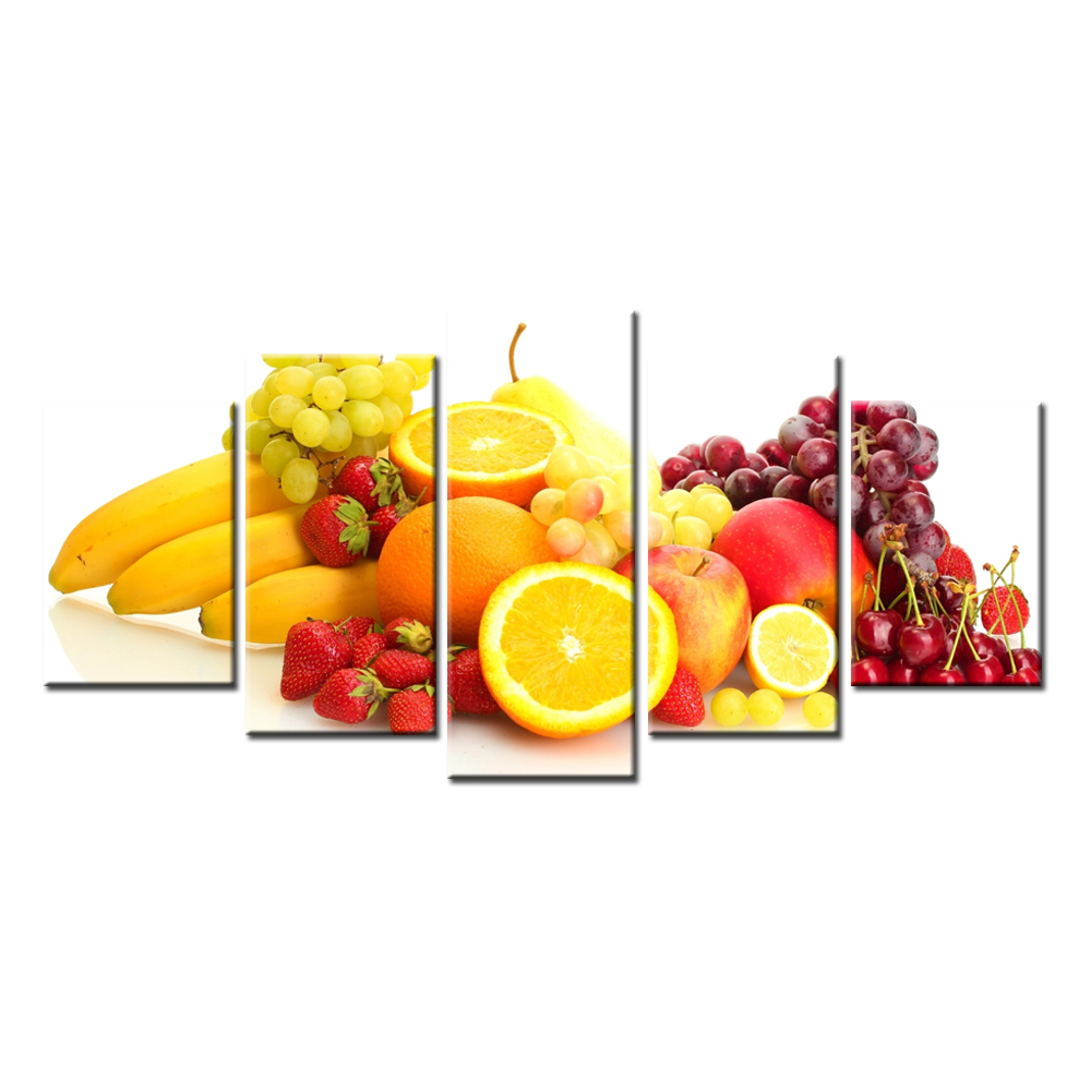 Wholesale Dropshipping Lemon Strawberry Wall Picture for Living Room ...
