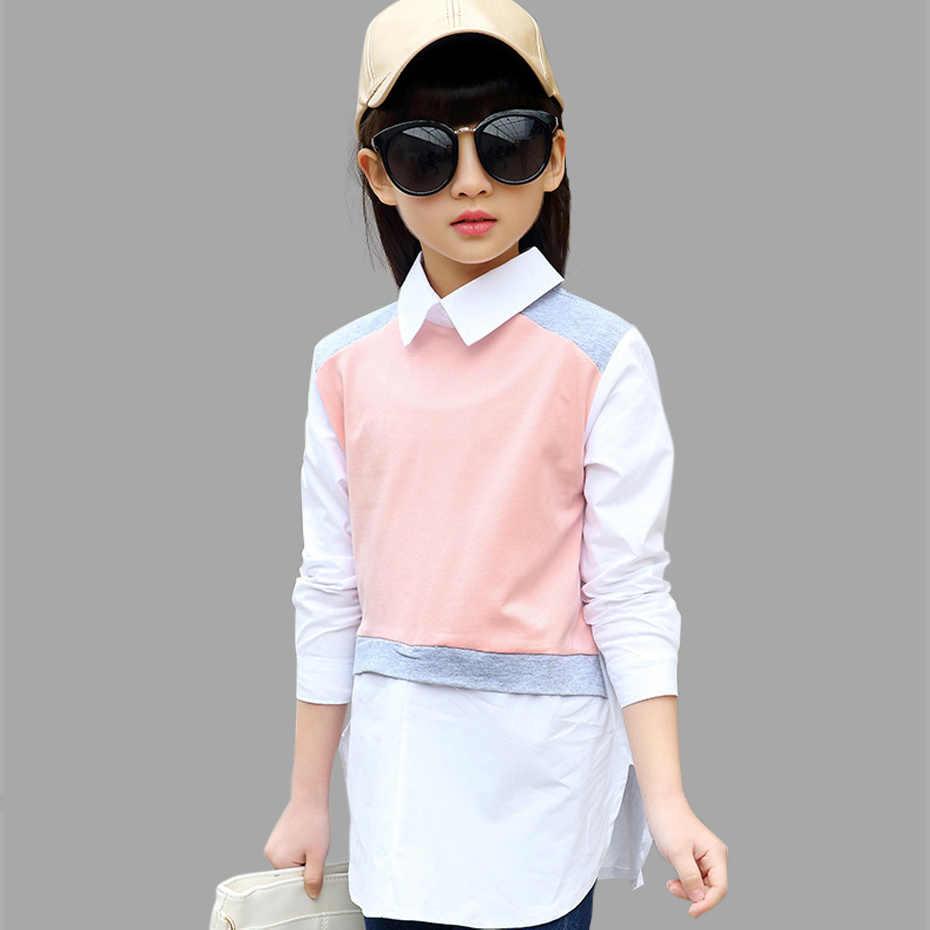 65964ea8286 Подробнее Обратная связь Вопросы о Блузки для девочек подростков ...