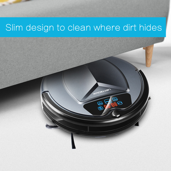 LIECTROUX B3000 Robot Vacuum Cleaner,Intelligent Carpet Sweeper,Schedule,Virtual Blocker,Self Charge,Remote Control,