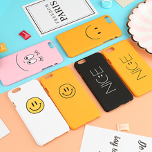 Cyato Lovely Luck 7 Case For iPhone Cute Cartoon Words X pink bcak cover 6 8 Plus capa fundas