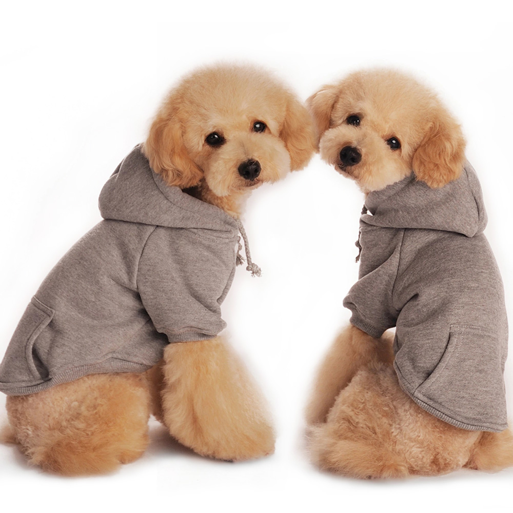 Dog Jacket Hoodie Pet Cotton Coat Letter Print Chihuahua Coat Small Pets Clothe
