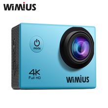 Wimius Оригинальный 4 К 30fps 1080 P Действий Камеры Спорт DV Cam Wi-Fi перейти Водонепроницаемый 40 м Pro 2.0 дюймов LCD Full HD Мини Видео видеокамеры