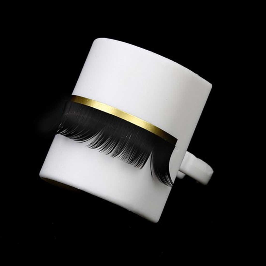 Клей отдельный макияж ресниц инструмент 1 шт. индивидуальный Набор накладных ресниц u-образный удлинитель для ресниц кольцо для наклеивания держатель палитры кольцо держатель