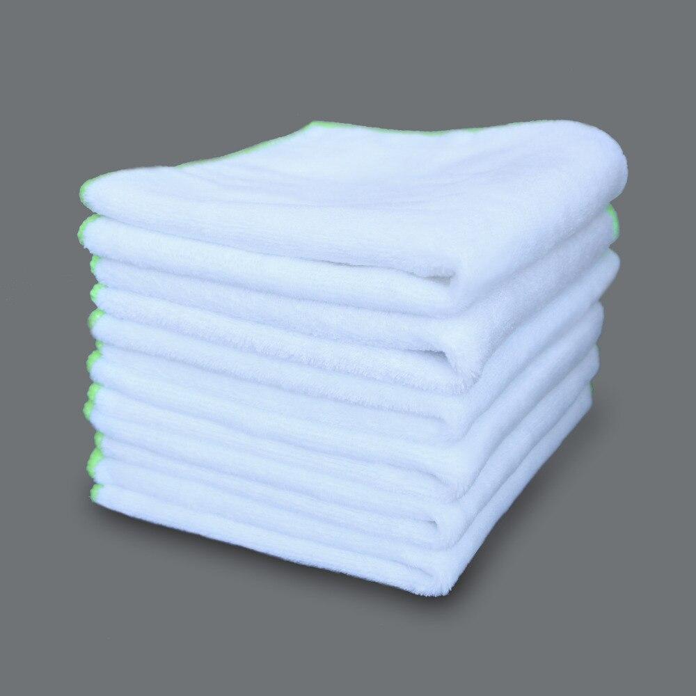 6PCS Ultra Soft Microfiber Towel Car Washing Cloth For Car Polish& Wax Car Care Styling Car Cleaning Microfibre 35*35cm