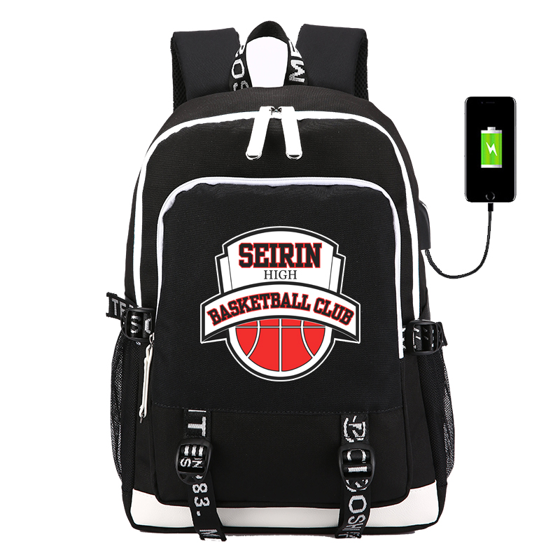 Costumes & Accessories Kuroko No Basket Ball Number Boys And Girls School Bags Book Backpacks Anime Bag Shoulder Bag Students Bagpack Travel Bag Costume Props