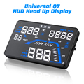 "Universal Q7 5.5"" Auto Car HUD GPS Head Up Display Speedometers Overspeed Warning Dashboard Windshield Projector"