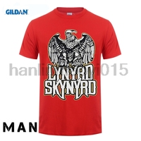GILDAN 100 Cotton O Neck Printed T Shirt Lynyrd Skynyrd T Shirt Free Bird