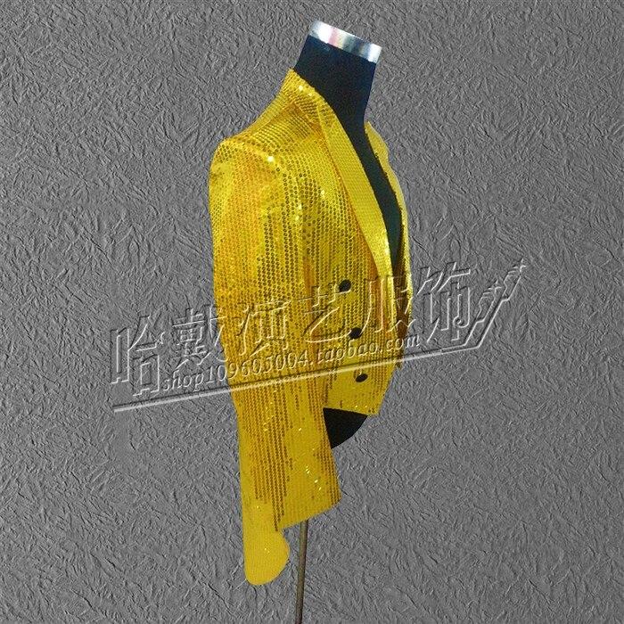 Mètres S Formelle Paillette Costumes Marié 2018 Chanteuse Smoking Or 5xl Mâle Robe La Vêtements De Stade Hwqa0rHE