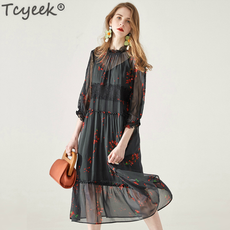 699c81fd6d49f Tcyeek-R-el-Soie-robe-pour-femmes-D-t-robe-de-plage-Noir -Longue-Vintage-robe.jpg