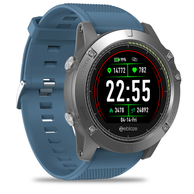 New Zeblaze VIBE 3 HR IPS Color Display Sports Smartwatch Heart Rate Monitor IP67 Waterproof Smart Watch Men For IOS & Android 2