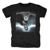Bloodhoof Free shipping sepulture Metallica Harms Way Converge Satan cotton new T Shirt Asian Size