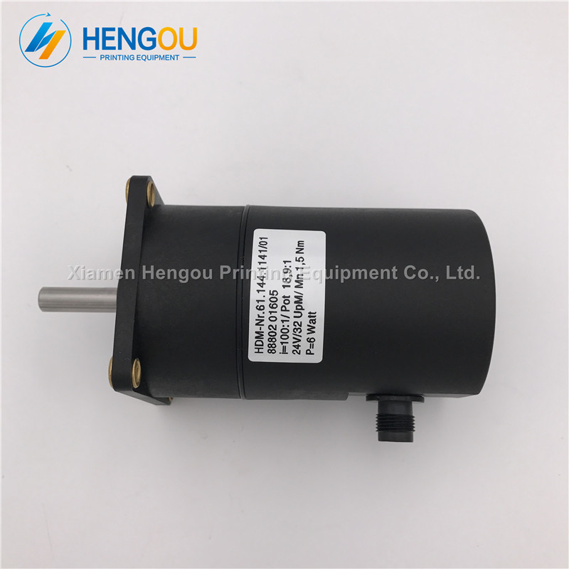 1 Piece Heidelberg Printing Machine Motor 61.144.1141 heidelberg SM102 CD102 motor 1 piece heidelberg sm102 cd102 cylinder gripper printer parts gripper pad