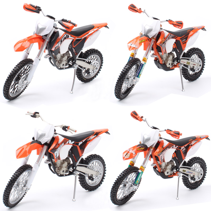 1/12 Automaxx Mini KTM 350 EXC-F EXC Diecast Scale Models Dirt Motocross Enduro Bike & Vehicle Miniature Motorcycle Toy For Kids