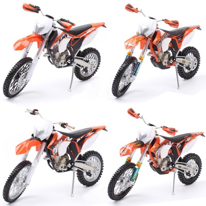 1/12 automaxx mini ktm 350 EXC-F exc diecast escala modelos sujeira motocross enduro bicicleta & veículo miniatura motocicleta brinquedo para crianças