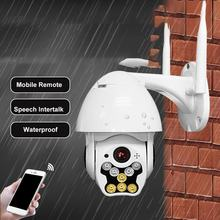 8 LED Outdoor Waterproof Wireless Wifi Security Camera 360 Degree Rotation Ball Machine Network Surveillance Camera 720/1080P(China)